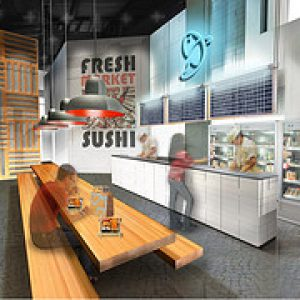 koncept sushi